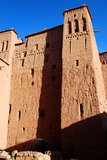 Kasbah. Ait Benhaddou, Souss-Massa-Drâa, Maroko Fotografia Stock