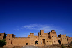 Kasbah Amridil在摩洛哥 免版税库存图片