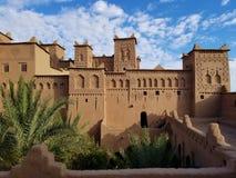 Kasbah Amridil i Skoura, Marocko royaltyfri bild