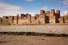 Kasbah Amridil Skoura morocco Arkivfoto