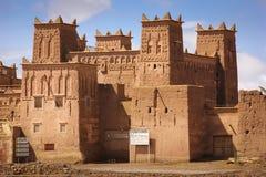 Kasbah Amridil Skoura morocco Royaltyfria Bilder