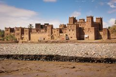 Kasbah Amridil. Skoura. Morocco. Stock Photo