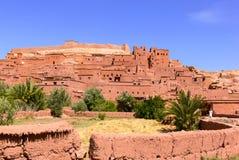 Kasbah av Tifoultoute, Marocko 2 royaltyfri bild