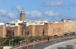 Kasbah av Udayasen i Rabat Royaltyfri Fotografi