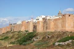 Kasbah av Udayasen i Rabat Arkivbilder