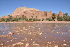 Kasbah of At Benhaddou, Morocco Royalty Free Stock Photography
