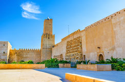 The Kasbah courtyard Stock Images