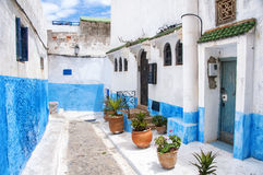 Kasbah d'Udayas à Rabat Image libre de droits