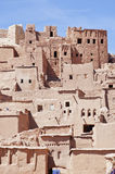 Kasbah dans AIT Ben Haddou, Maroc Image stock