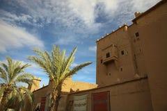 Kasbah dans l'ouarzazate Photo libre de droits