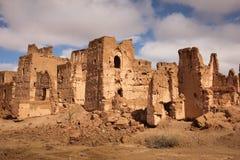 Kasbah dans les ruines Skoura morocco Image stock