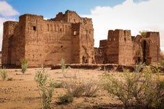 Kasbah dans les ruines Skoura morocco Photo libre de droits