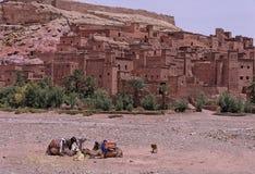 Kasbah de AIT Ben Haddou Imagem de Stock