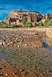 Kasbah de AIT Ben Haddou 2 Imagens de Stock