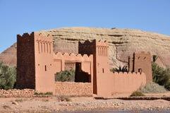 Kasbah de AIT Benhaddou, Marrocos Foto de Stock Royalty Free