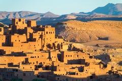Kasbah de Ait Benhaddou, Ouarzazate, Marocco Fotografia de Stock