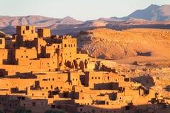 Kasbah de Ait Benhaddou, Ouarzazate, Marocco Imagens de Stock Royalty Free
