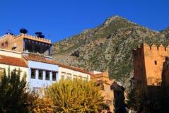 Kasbah de Chefchaouen, Marrocos fotos de stock royalty free
