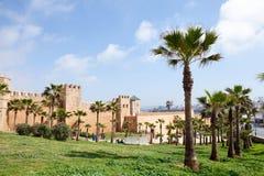 Kasbah de l'Udayas, Rabat Photographie stock libre de droits