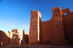 Kasbah de Tamdaght, près d'Ait Benhaddou. Souss-Massa-Drâa, Maroc photographie stock