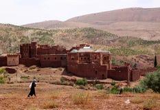 Kasbah di Telouet immagine stock