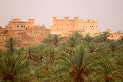 Kasbah in Draa Valley Royalty Free Stock Image