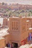 Kasbah em AIT Ben Haddou Fotografia de Stock Royalty Free