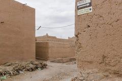 Kasbah em Marrocos Fotografia de Stock