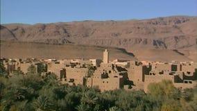 Kasbah en montagnes d'atlas de Higt morocco clips vidéos