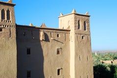 Kasbah et palmeraie. Skoura, Souss-Massa-Drâa, Maroc photo stock