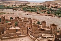 kasbah haddou ait ben Стоковая Фотография