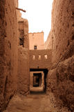 Kasbah interior Stock Images