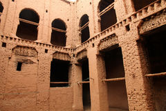 Kasbah interior Royalty Free Stock Photography