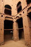 Kasbah interior Stock Images