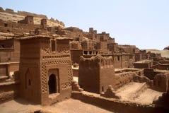 Kasbah in Marokko Stock Foto's