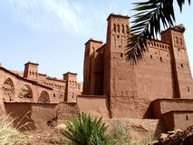 kasbah morocco Royaltyfri Fotografi