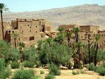 kasbah morocco Royaltyfri Bild