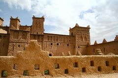The Kasbah in Morocco. The old Kasbah in Morocco stock image