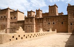 The Kasbah in Morocco. The old Kasbah in Morocco stock images