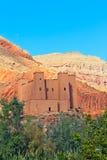 kasbah morocco Royaltyfria Bilder