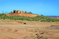 Kasbah in Morocco, Africa Stock Images