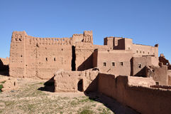 kasbah Morocco taourirt Obraz Stock