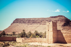 Kasbah, in the mountain of south Morocco Stock Image