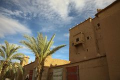 Kasbah in ouarzazate Royalty Free Stock Photo