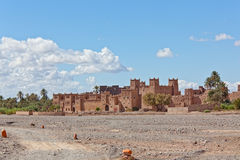 Kasbah in Ouarzazate Stockfoto
