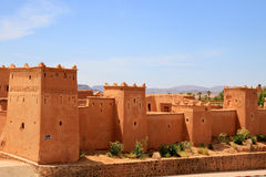 Kasbah in ouarzazate Stock Photography