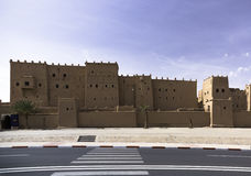 Kasbah in ouarzazate. Old Fort - the kasbah in ouarzazate Royalty Free Stock Photography