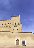 Kasbah in ouarzazate. Old Fort - the kasbah in ouarzazate Royalty Free Stock Photo