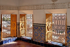 kasbah ouarzazate taourirt 图库摄影
