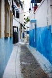 Kasbah Oudaia i Rabat, Marocko Fotografering för Bildbyråer